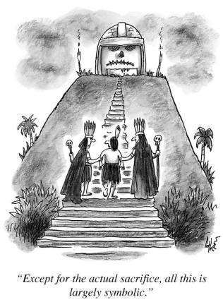 Sacrifice cartoon (2)